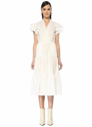 Philosophy Di Lorenzo Serafini Elbise Beyaz
